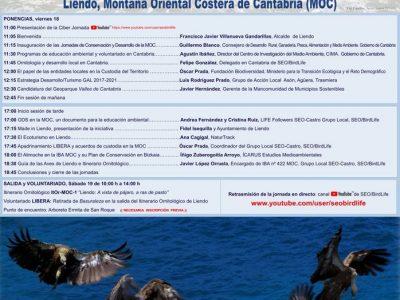 JORNADAS DE CONSERVACIÓN DE LA NATURALEZA Y DESARROLLO EN LA MONTAÑA ORIENTAL COSTERA (MOC)