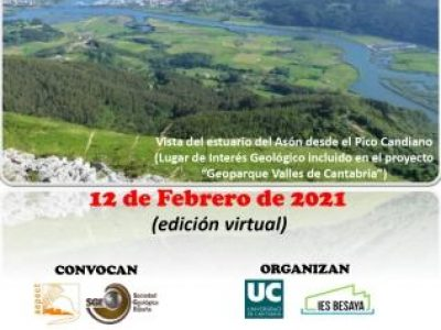 EL PROYECTO GEOPARQUE VALLES DE CANTABRIA COLABORA EN LA IX OLIMPIADA REGIONAL DE GEOLOGÍA EN FORMATO VIRTUAL
